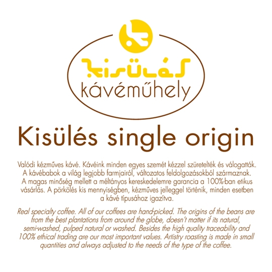 Kisülés Single Origin - 250g